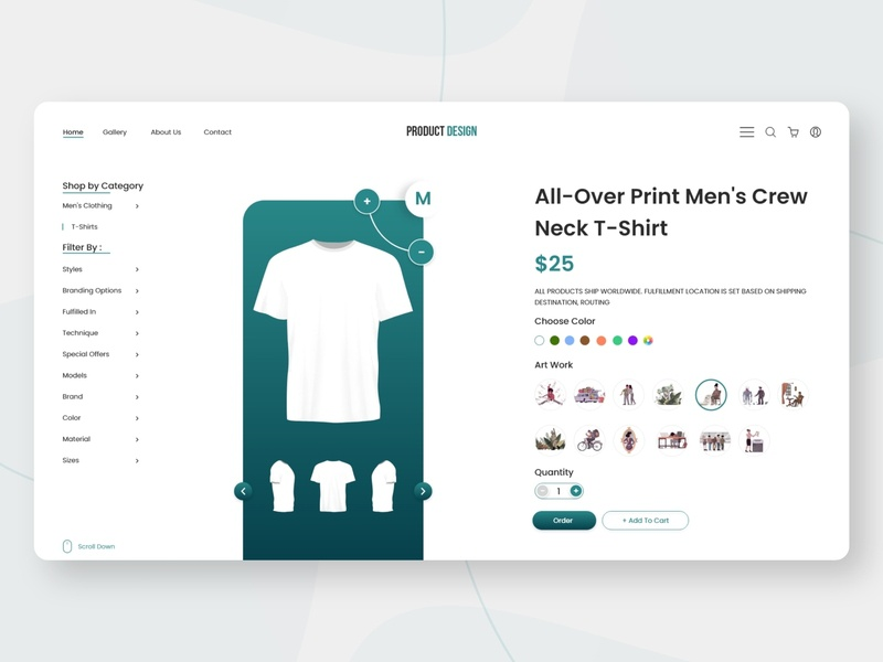 E-commerce Site ui popular trendy trend color dress cloth buy store shop online shopping stuff design fashion green minimal website dashboard e-shop commerce e-commerce