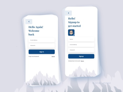 Signin & Signup Screen- TimeTravel App login screen ux ui app travel traveling app signup screen signup form signupform form register form register registration logout login signin signing sign up signup sign