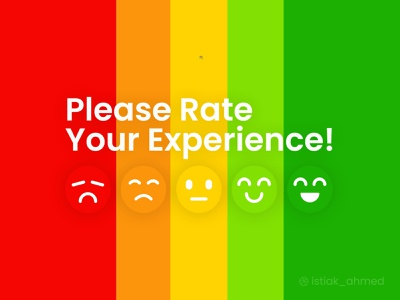 Product Rating product review review clean ux graphic design ui design 3d icon logo mobile apple smile rating minimum viable product rate