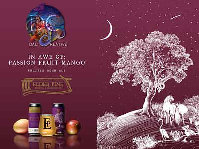 Eden Beer Can / Packaging beer packaging logo photoshop drawing branding digital art illustration design