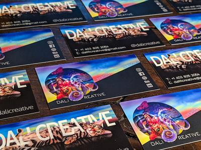 Dali Creative Branding surreal business card octopus graphicdesign typography cat digital animal logo art artdirection illustration design branding