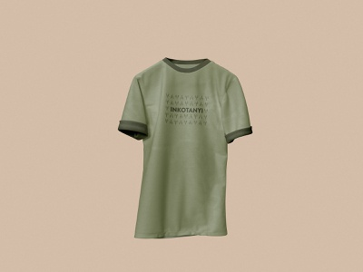 Inkotanyi military green Tshirt clean