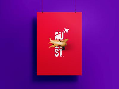 Campaign logo covid-19 clean minimalist simple poster