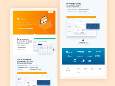 Landing page landing page dashboard system platform payment