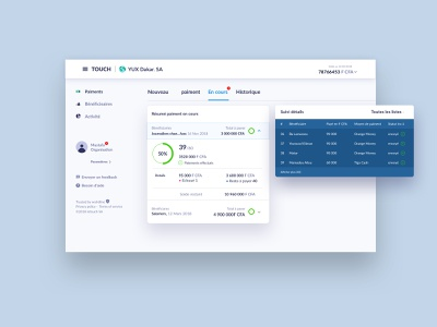 Paymnent dashboard landing page dashboard system platform payment