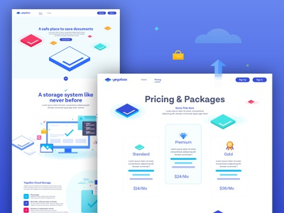 Yegobox Website design system