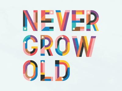 Never Grow Old flat never grow old type casumo