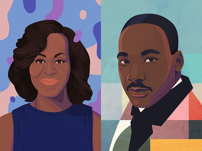 Michelle O + MLK Jr