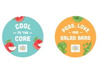 Whole Kids Foundation In Store Buttons