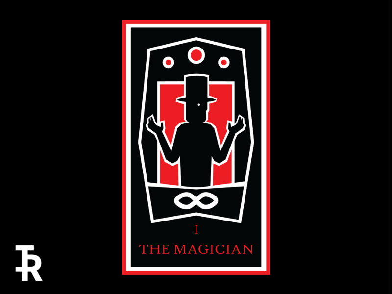 I - The Magician by Ian Rhoten on Dribbble
