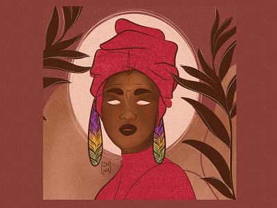 Sem título digital painting digitalart woman illustration illustration artist womanblack