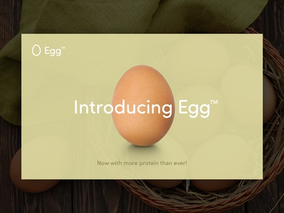 Introducing Egg