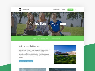 Tyrifjord vgs. website