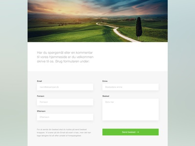 Nyhelse contact page