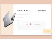 DailyUI Challenge! #002 - CREDIT CARD CHECKOUT