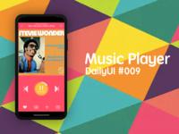 DailyUI Challenge! #009 - MUSIC PLAYER