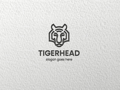 tiger gangm.a tiger animal graphic design minimal icon flat design logo