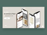 KLAYO's E-commerce Landing Page