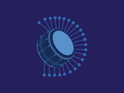 DRUM behance type typography 36daysoftype dribbble hellodribbble music drum illustration