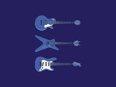 ELECTRIC GUITAR behance dj music guitar type typography hellodribbble dribbble art illustration
