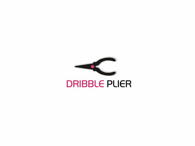 DRIBBLE PLIER icon media logo tools tool mechanical mechanics mechanic branding ui dribbleartist illustration design graphic dribble