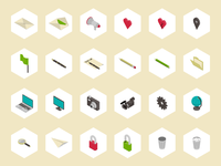Simple 3D - Free Icon Set