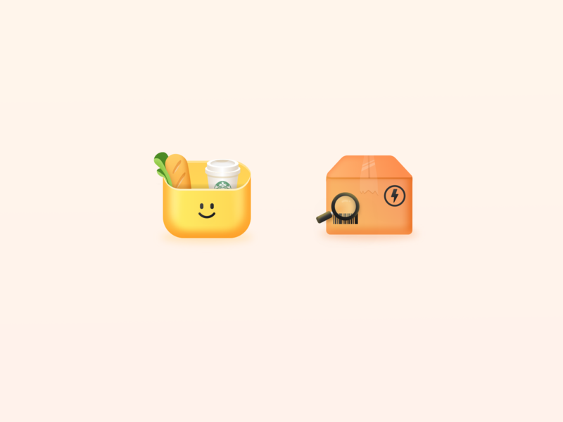 Little icons expressage design illustration icons icon