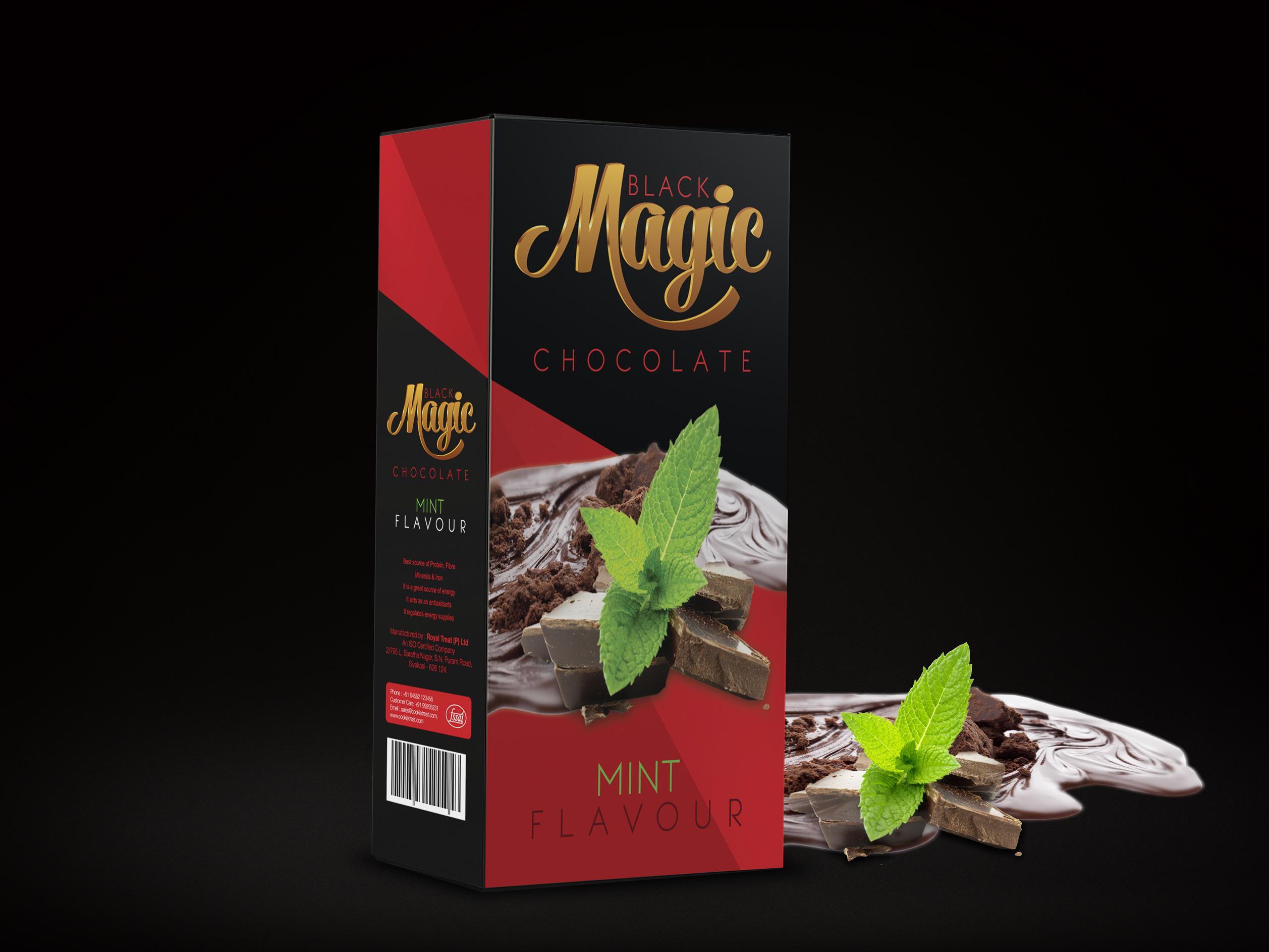 Dribbble Black Magic Chocolate Boxjpg By Saangalya