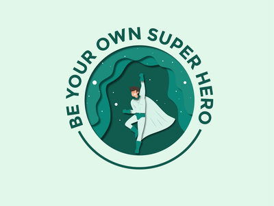 SuperHero Badge