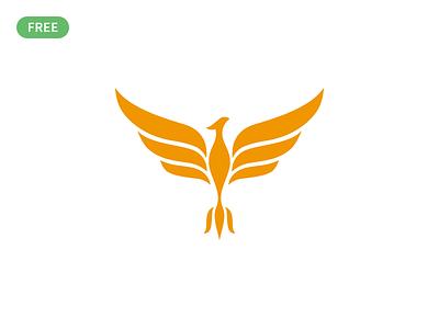 Phoenix logo design (freebie) concept symbol mark phoenix logo phoenix logodesign illustrator illustration branding brand vector logo freebie free