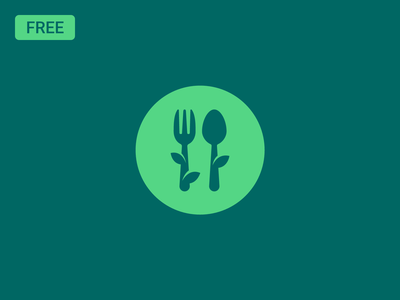 Restaurant logo design (Freebie) symbol icon clean food logo restaurant logo illustration brand vector logo freebie free