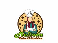 Logo Design, Melinda Cake and Cookies