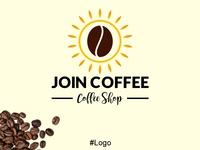 Join Coffee, Logo Design.