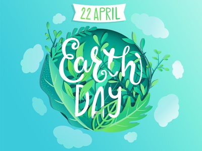 Earth Day poster.