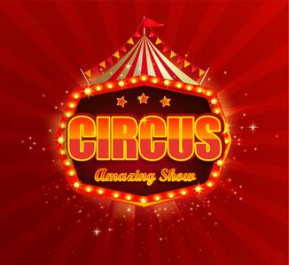 Circus emblem