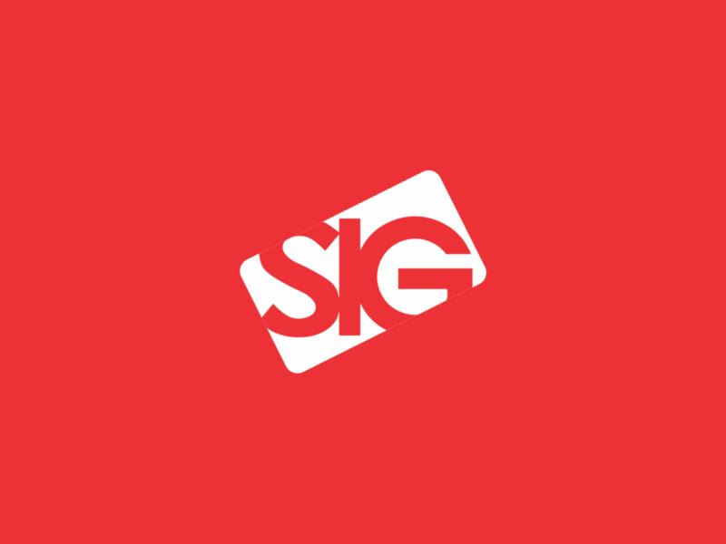 SIG logo brand logo design logodesign branding design brand design logos logotype logo design branding