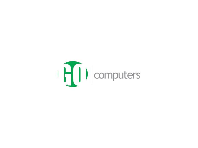 GO Computers logo logo design logodesign branding design logos brand design logotype design logo branding