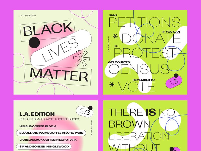 Black Lives Matter post black lives matter social media social typography illustration graphic design graphic design