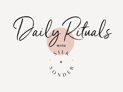 Daily Rituals typogaphy typeface type animations campaign newsletter email design email product design identity logo branding graphic design graphic design