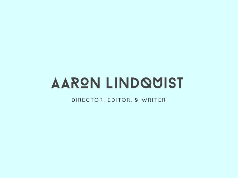 Aaron Lindquist's New Branding