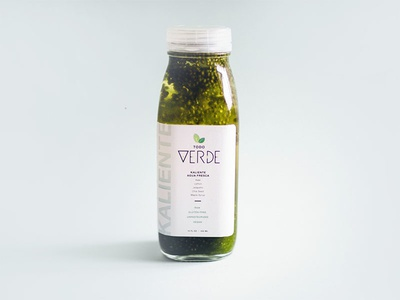 Todo Verde Bottle Design