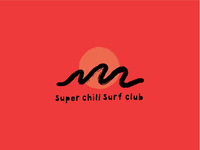 Super Chill Surf Club Logo