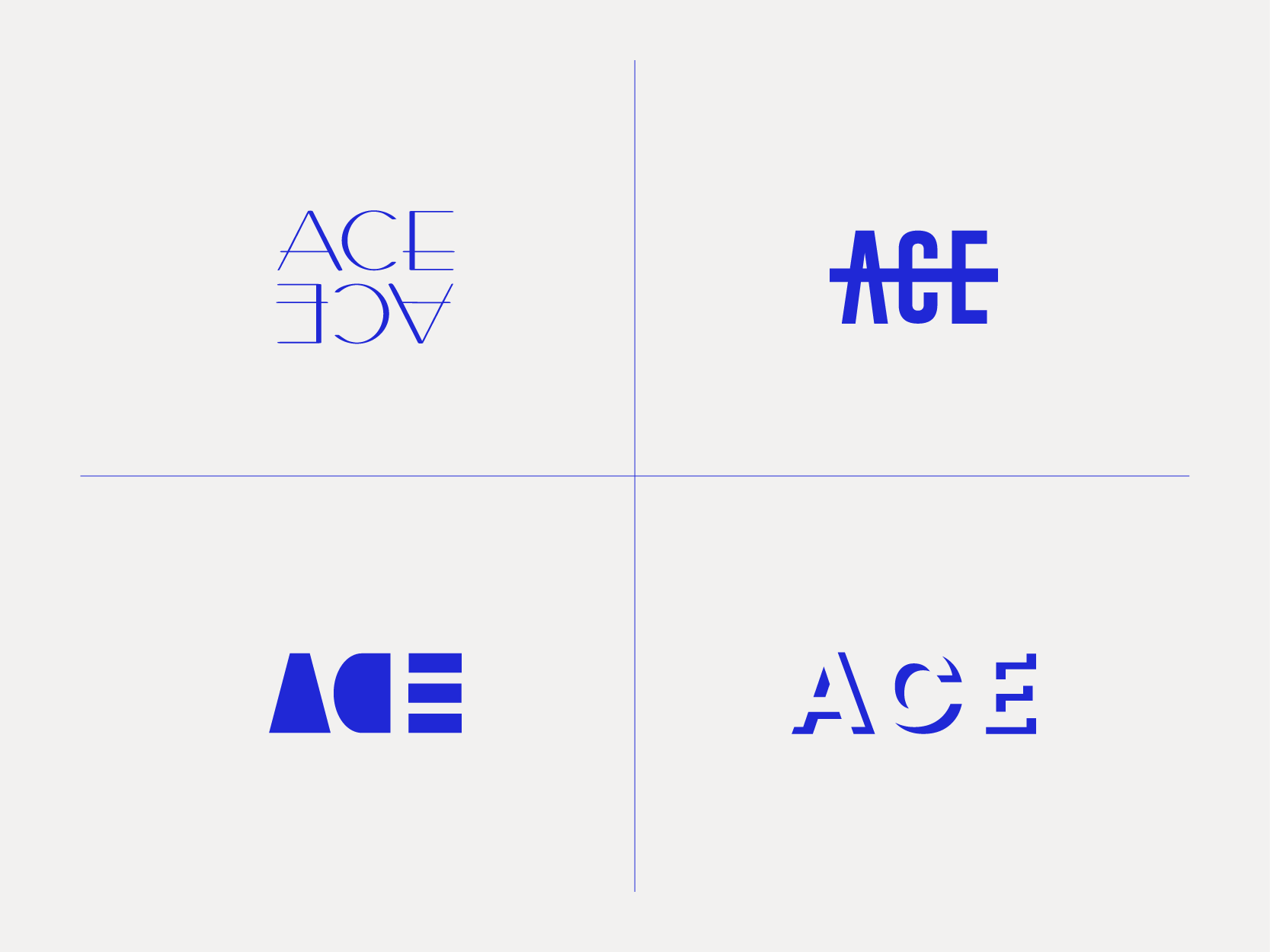 ACE Logo Exploration