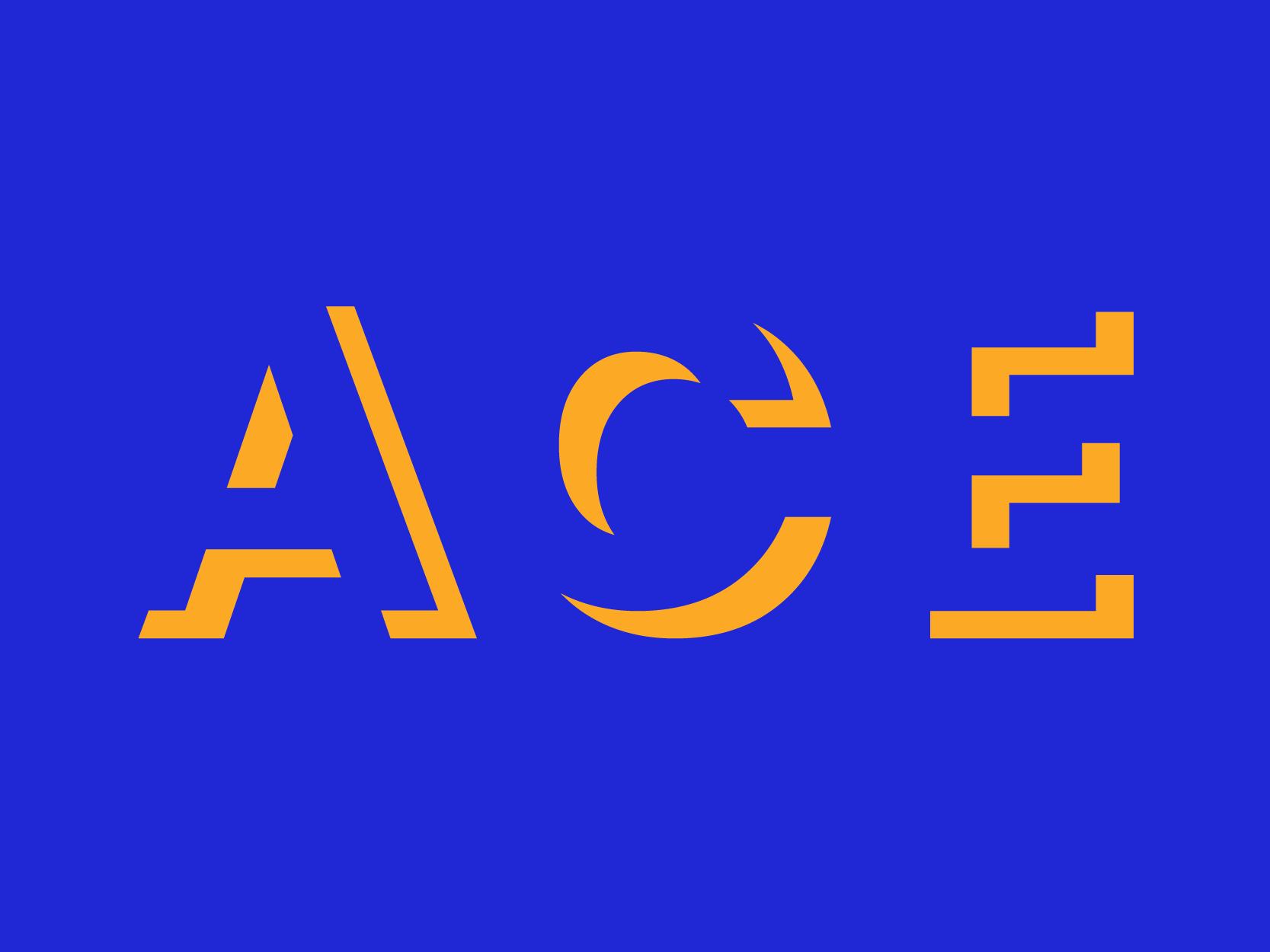 Ace dribbble logo 01
