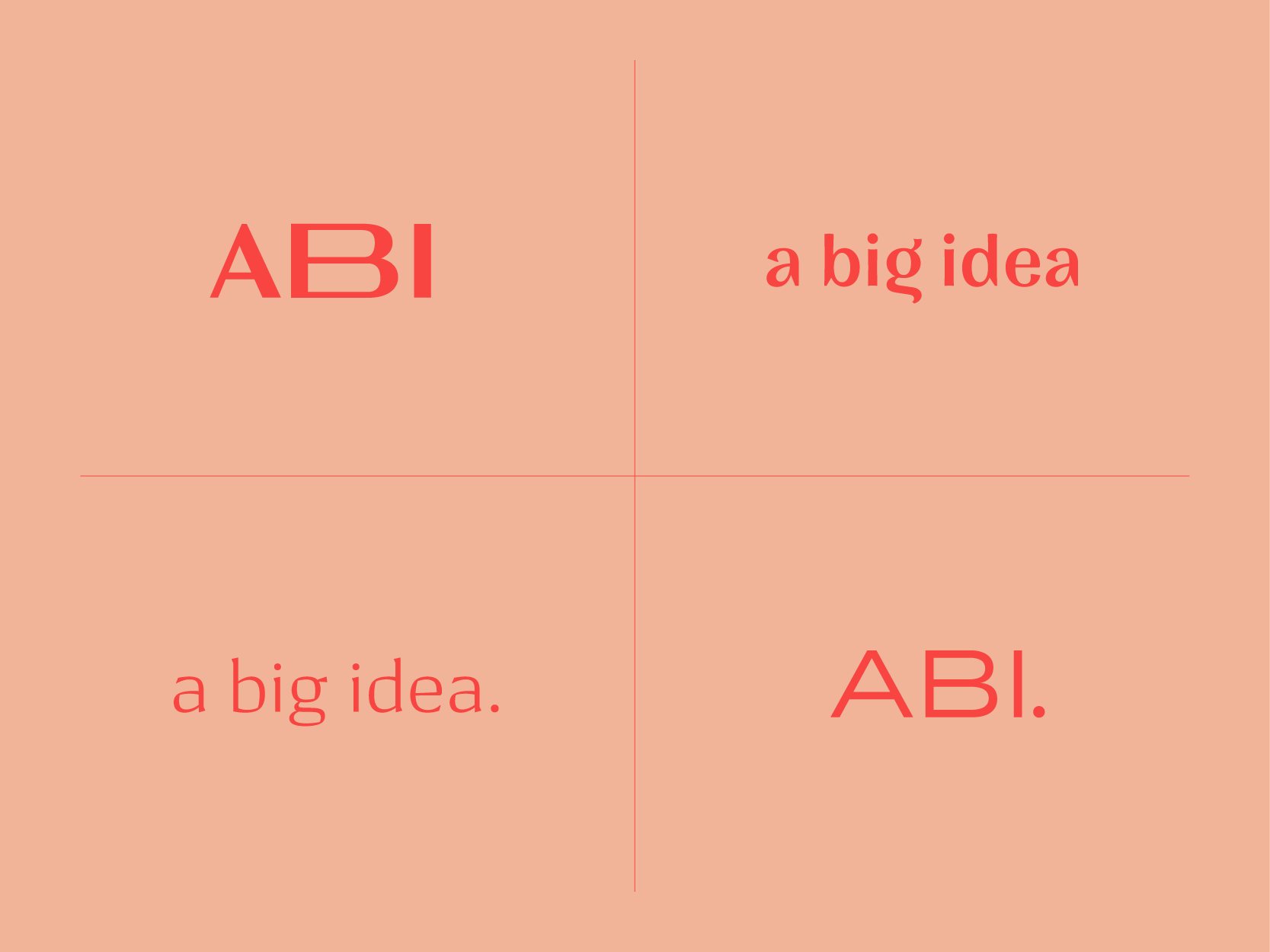 A Big Idea Logo Exploration