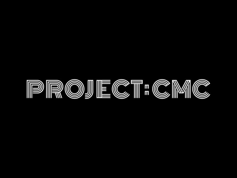 Project: CMC Logo gallery art gallery art project cmc typography identity logo branding graphic design graphic design