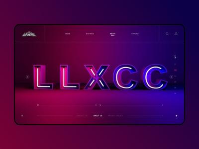 LLXCC_web design