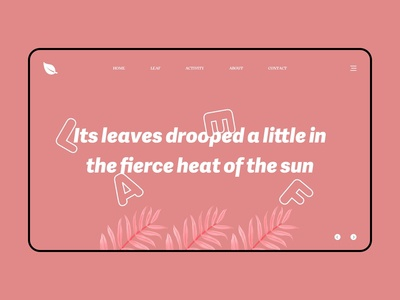 Leaf_web design