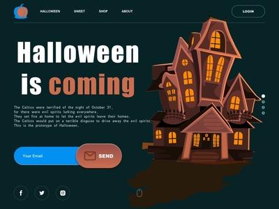 Halloween_web design