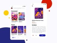 Artand App design
